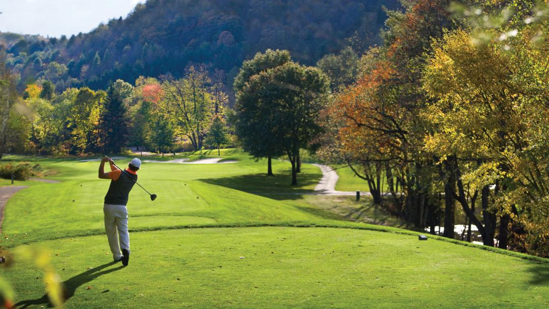 Fall Golf at the Woodstock Inn's Country Club