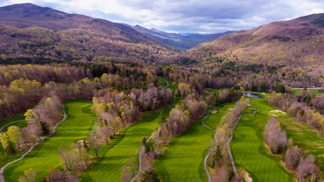 Green Mountain National Golf Course Aerial Shot