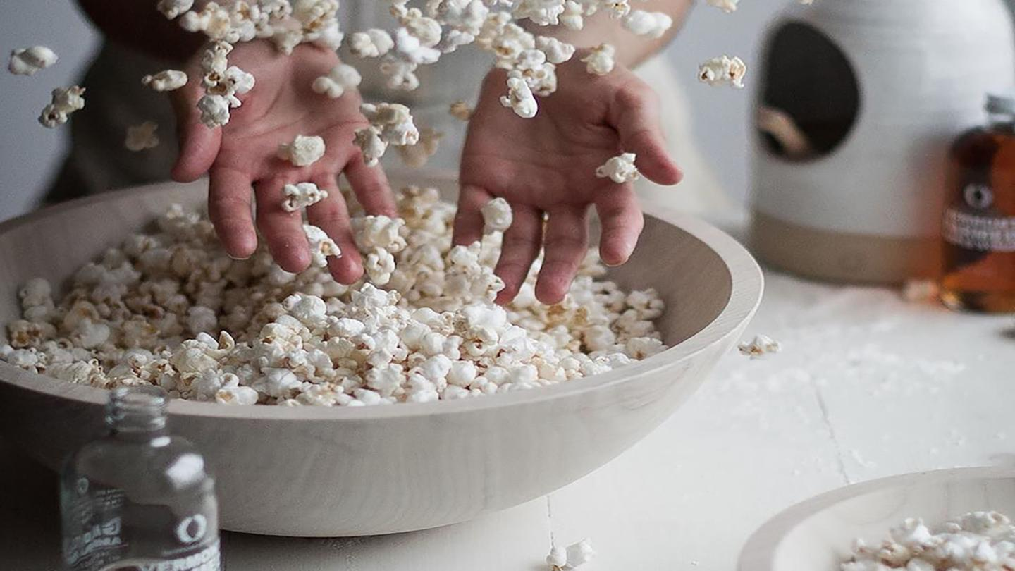 Farmhouse Pottery Maple Popcorn
