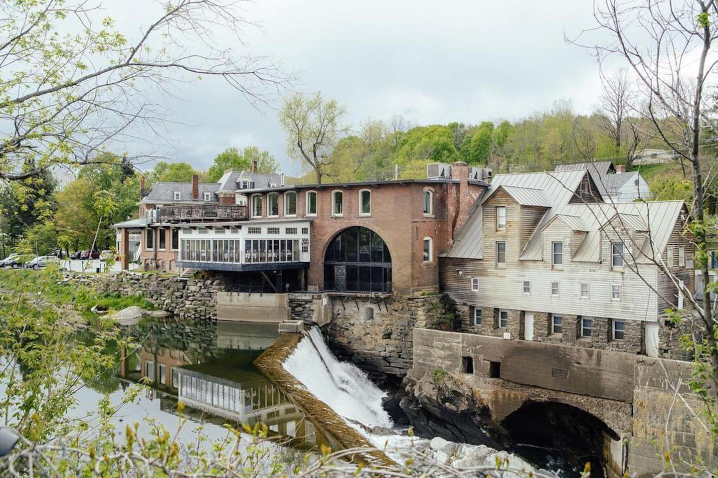 Simon Pearce Mill in Quechee Vermont