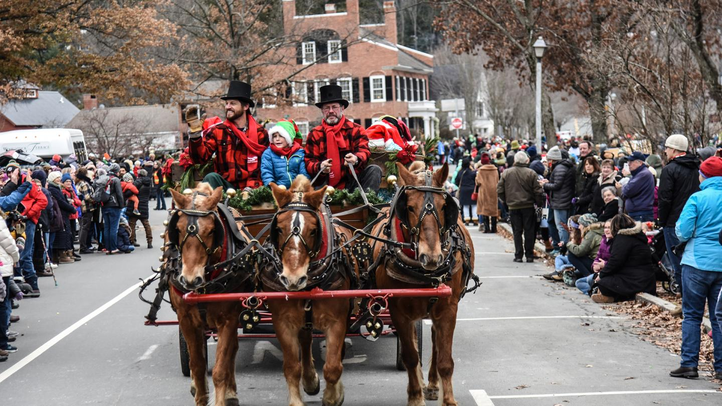 Woodstock Christmas Parade 2020 Signature Events | Woodstock VT