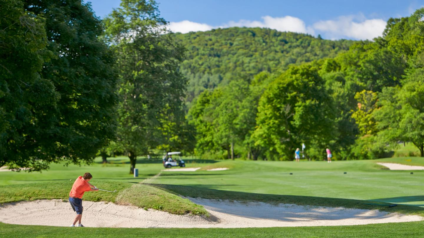 Vermont's most beautiful golf course