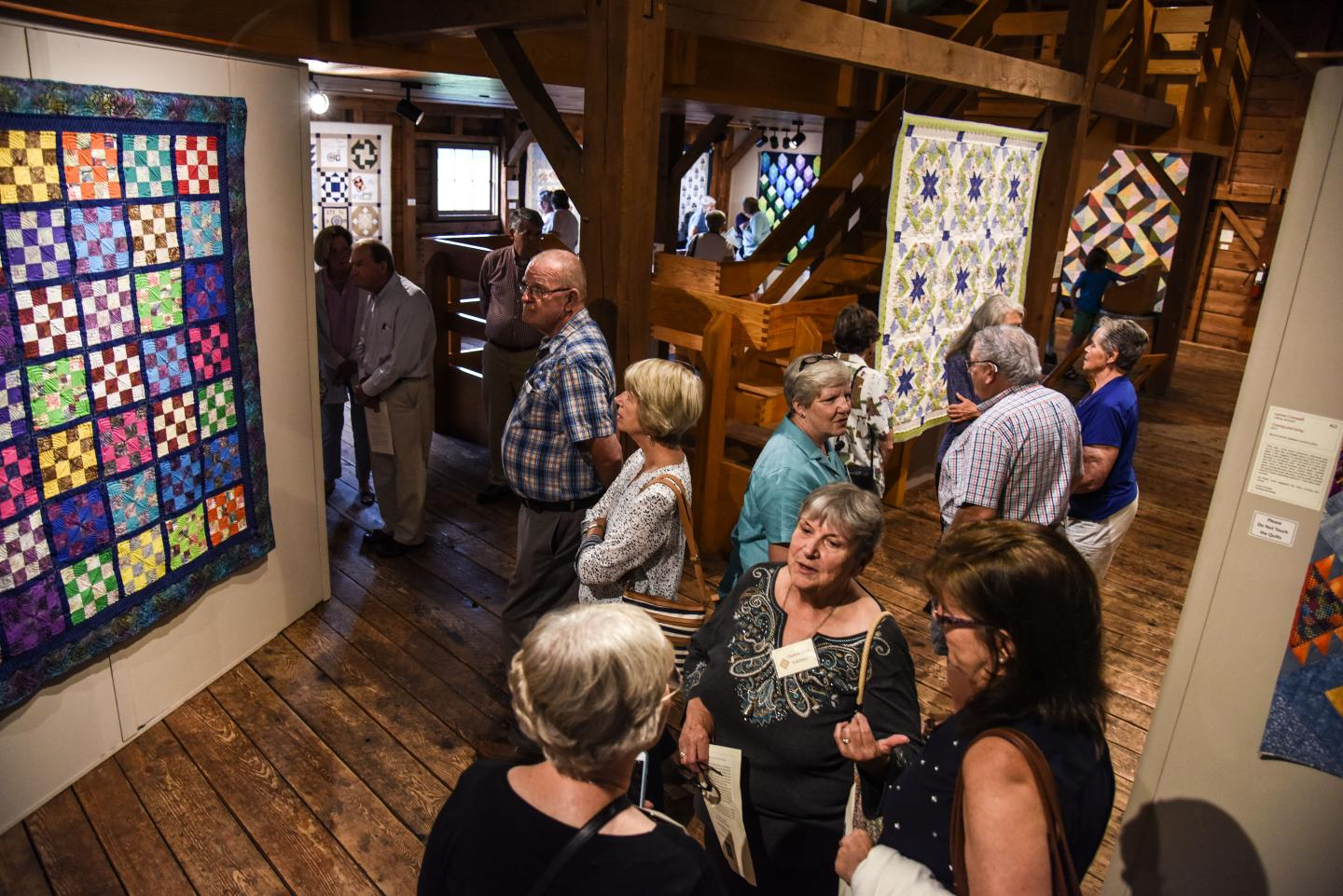 Billings Farm quilt exhibit
